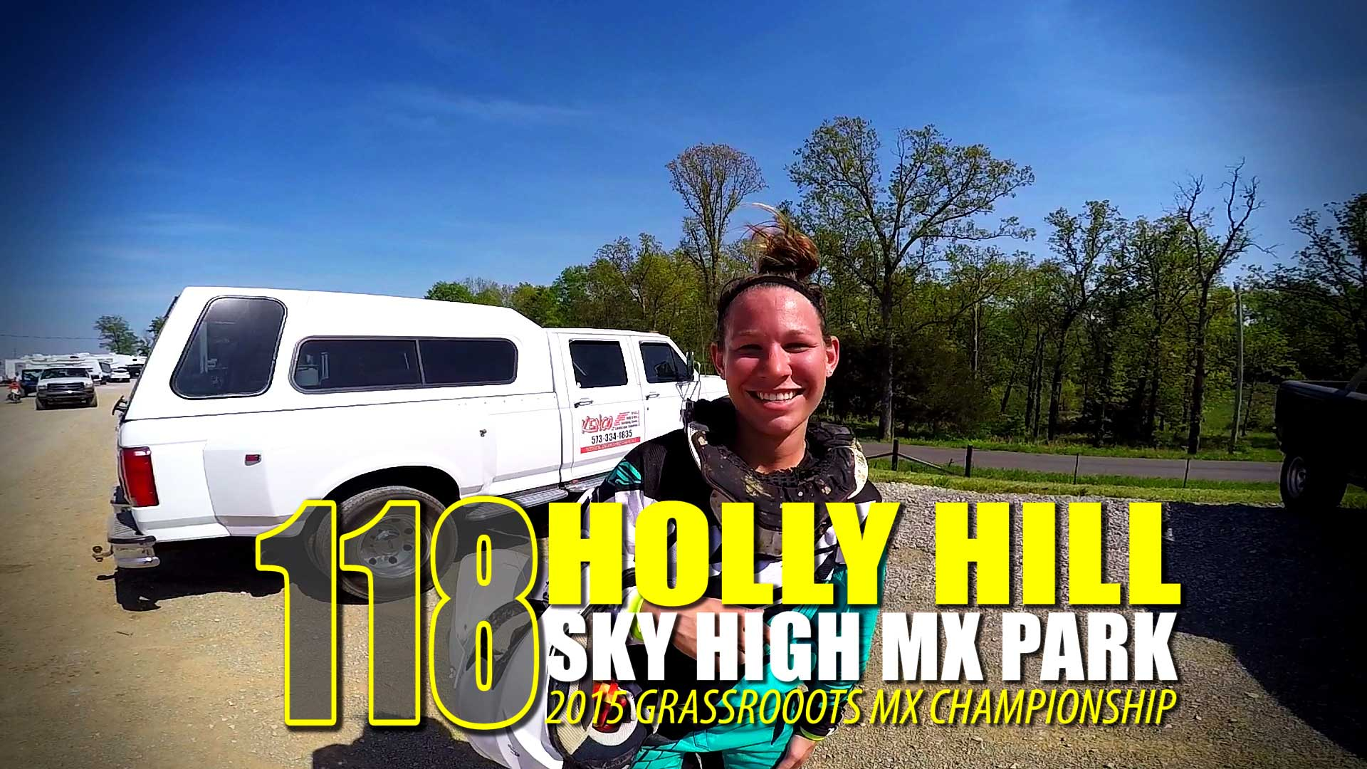 Helmet Cam: Holly Hill | 250B | Sky High MX | Grassroots MX