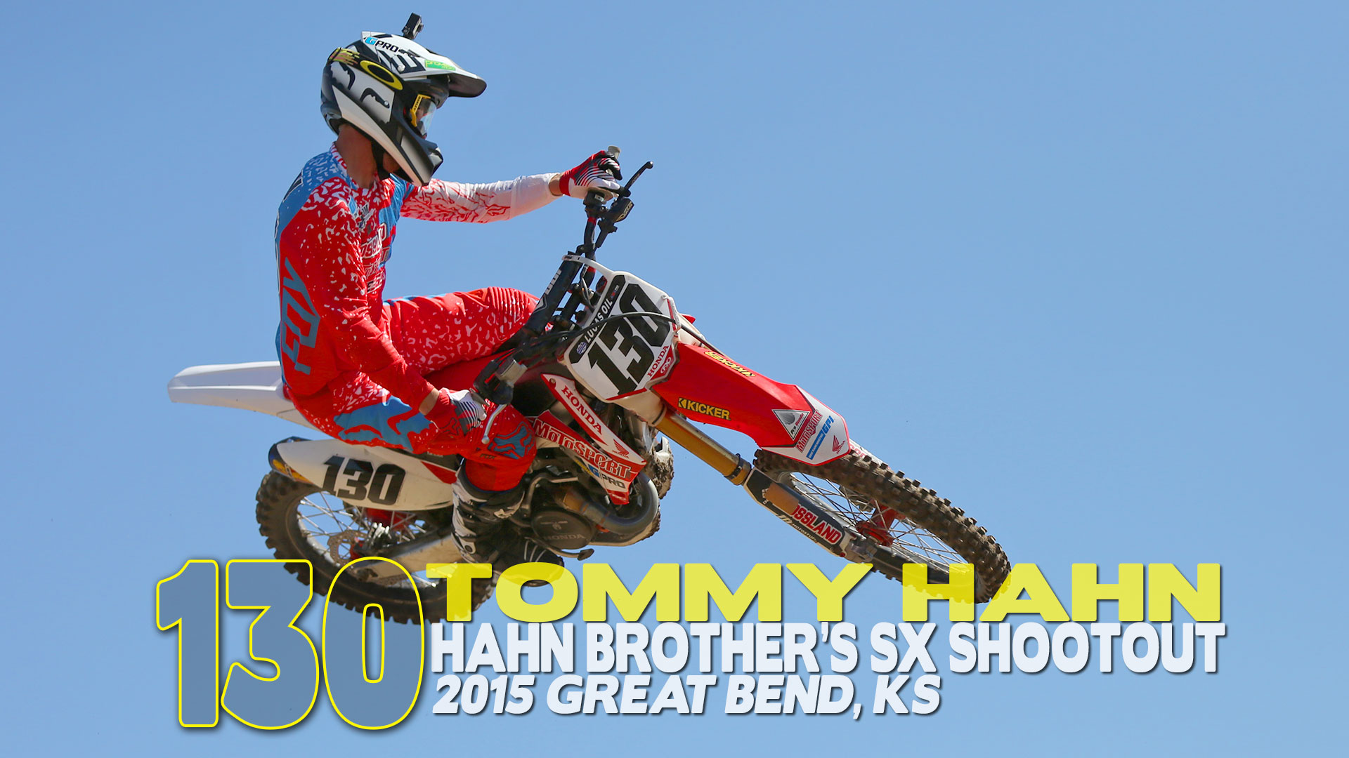 HELMET CAM: Tommy Hahn | Hahn Brothers SX Shootout - Glory Hog Media
