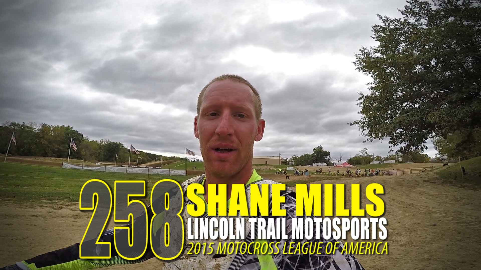 HELMET CAM: Shane Mills | Lincoln Trail MX | Motocross League of America