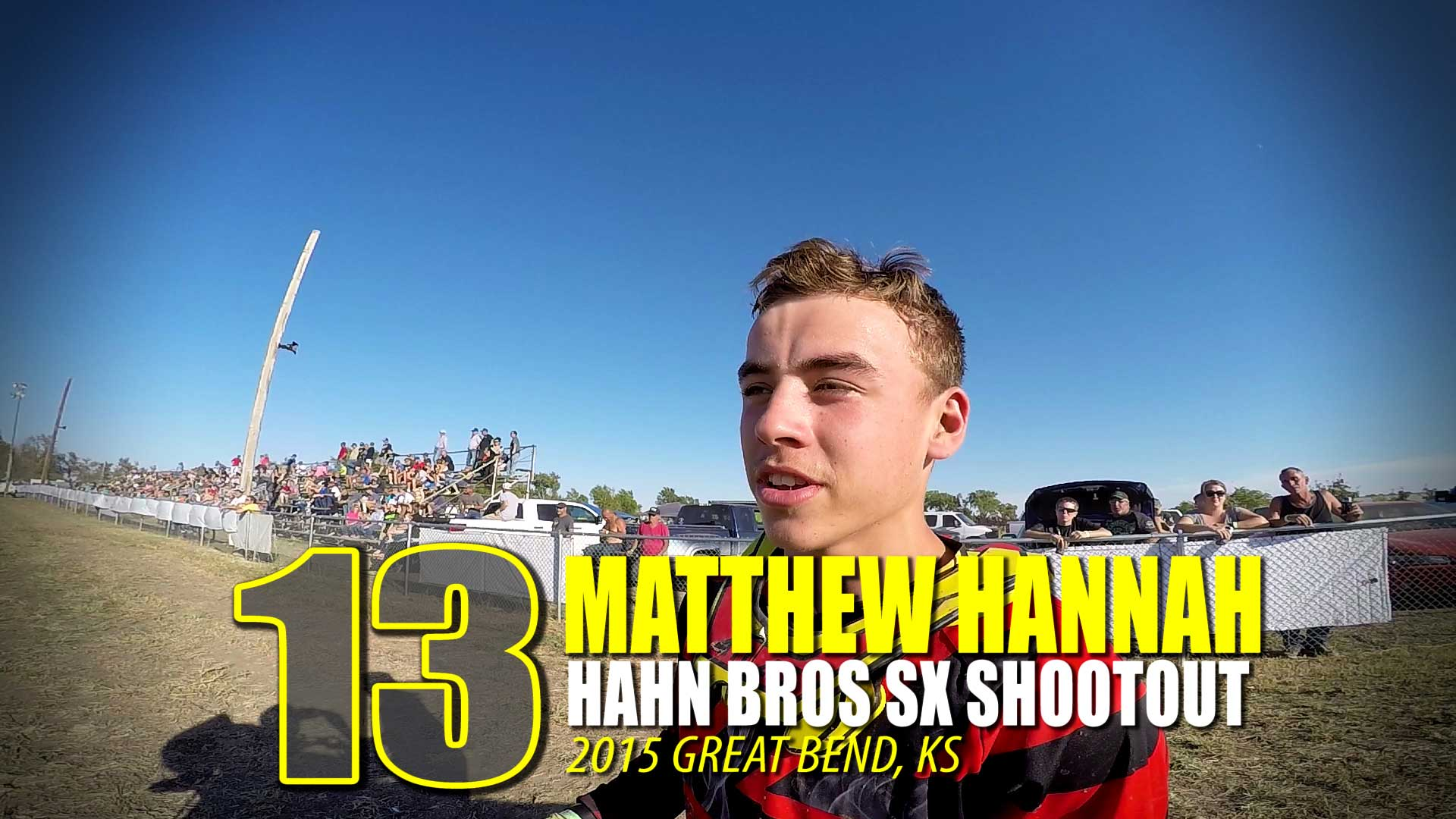 HELMET CAM: Matthew Hannah Hahn Brothers SX Shootout | Glory Hog Media