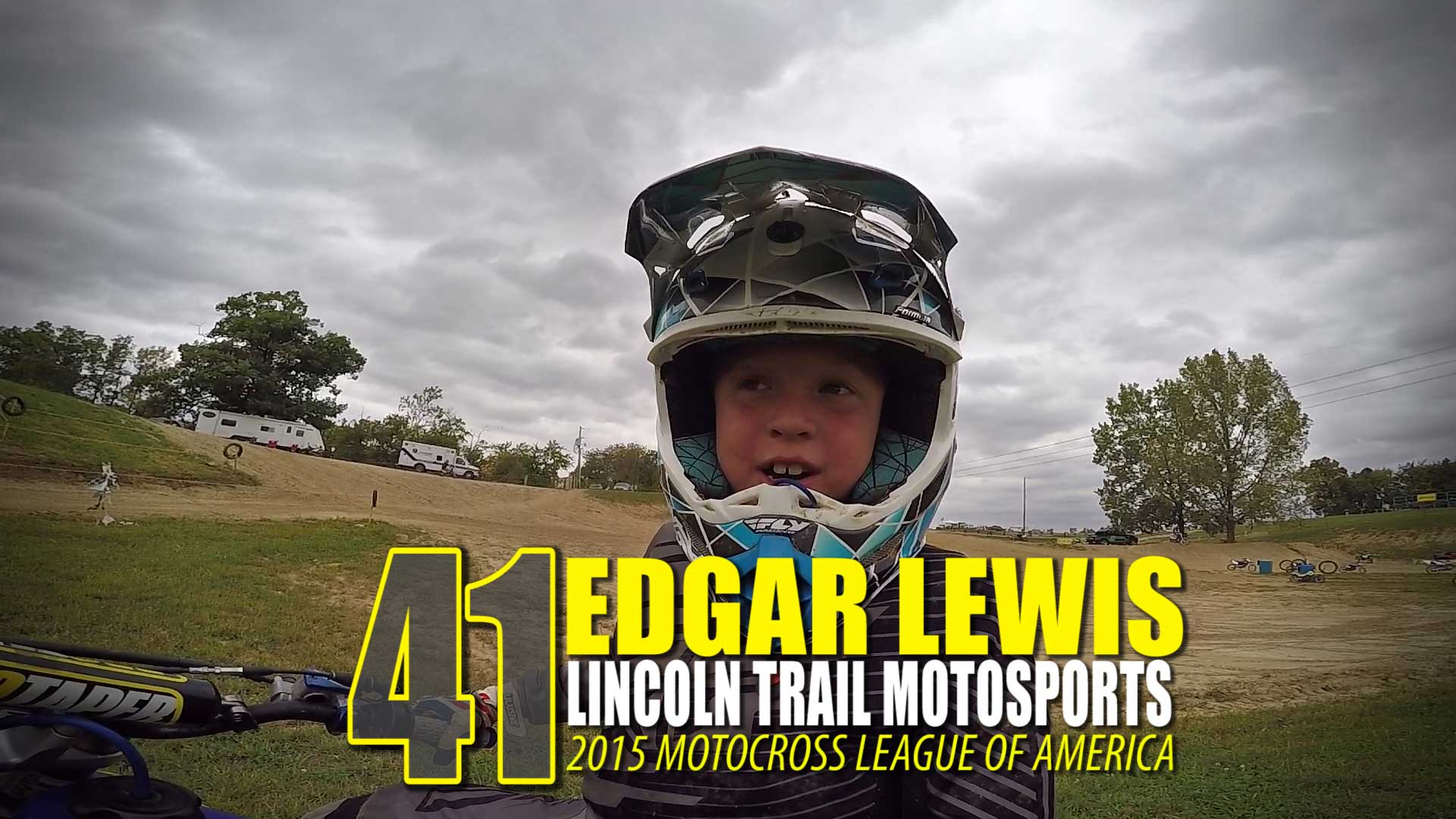HELMET CAM: Edgar Lewis Lincoln Trail Motosports | Glory Hog Media