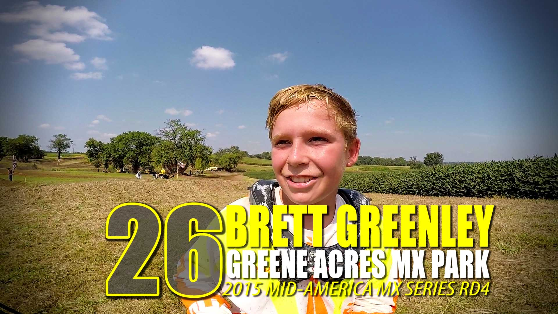 HELMET CAM: Brett Greenley Greene Acres MX MAMS RD4 - Glory Hog Media