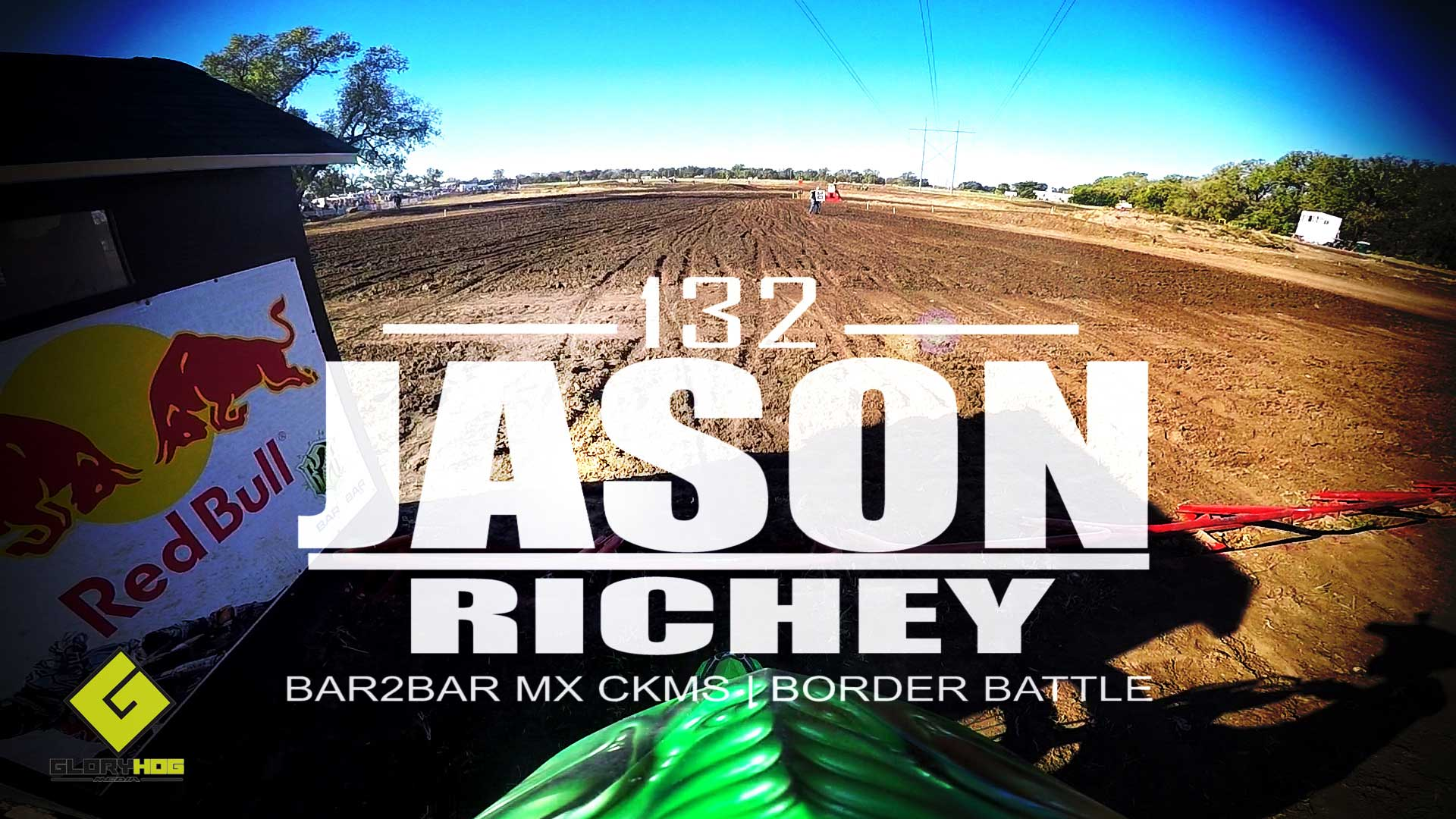 HELMET CAM: Jason Richey Bar2Bar MX 250 PRO | Glory Hog Media