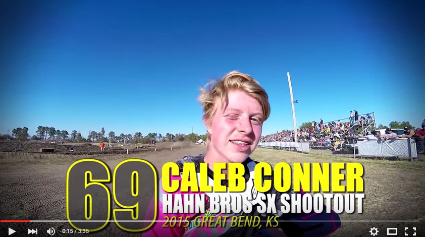 HELMET CAM: Caleb Conner Hahn Brothers SX Shootout | Glory Hog Media