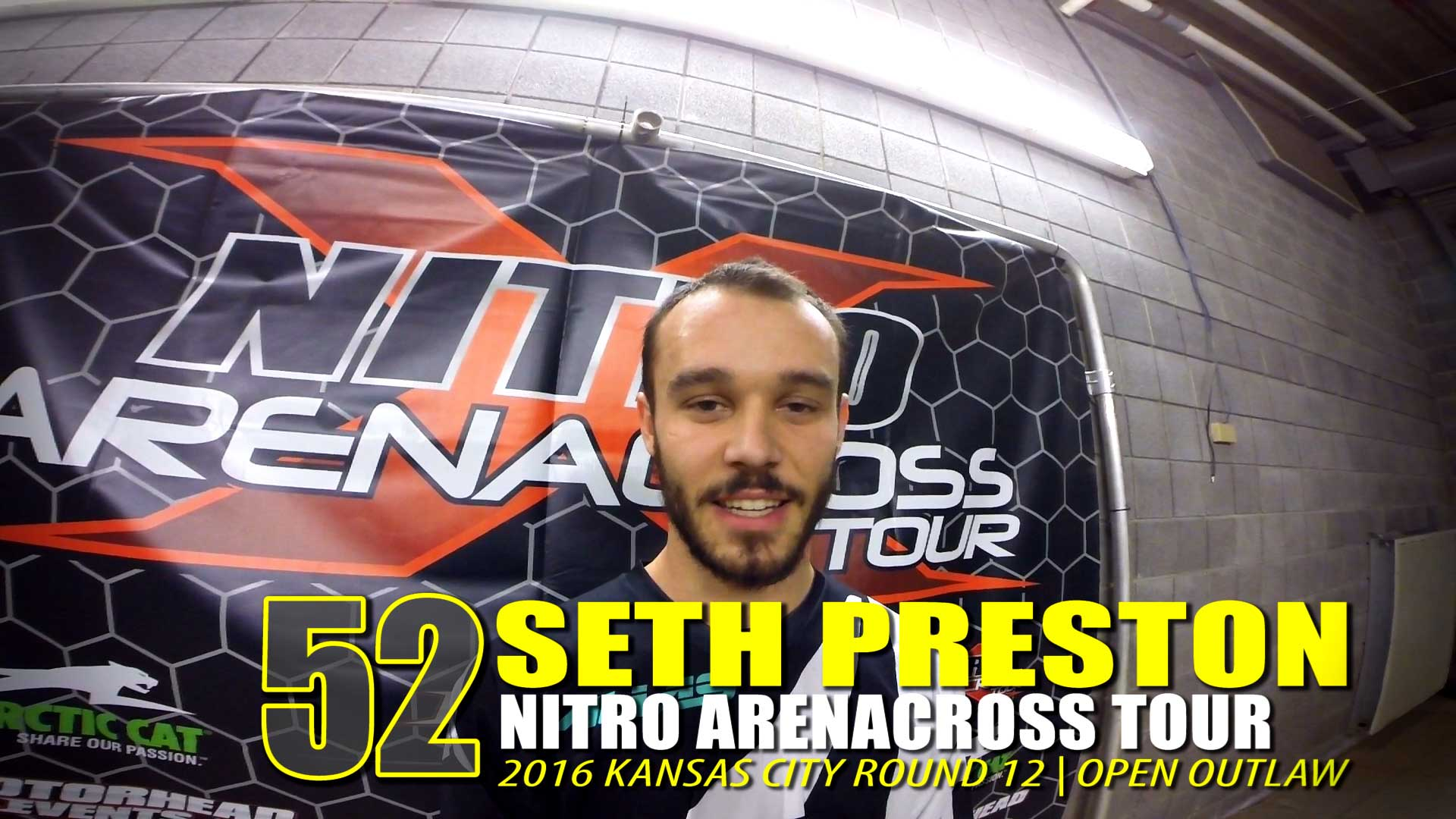 Helmet Cam: Seth Preston Nitro AX Tour Kansas City