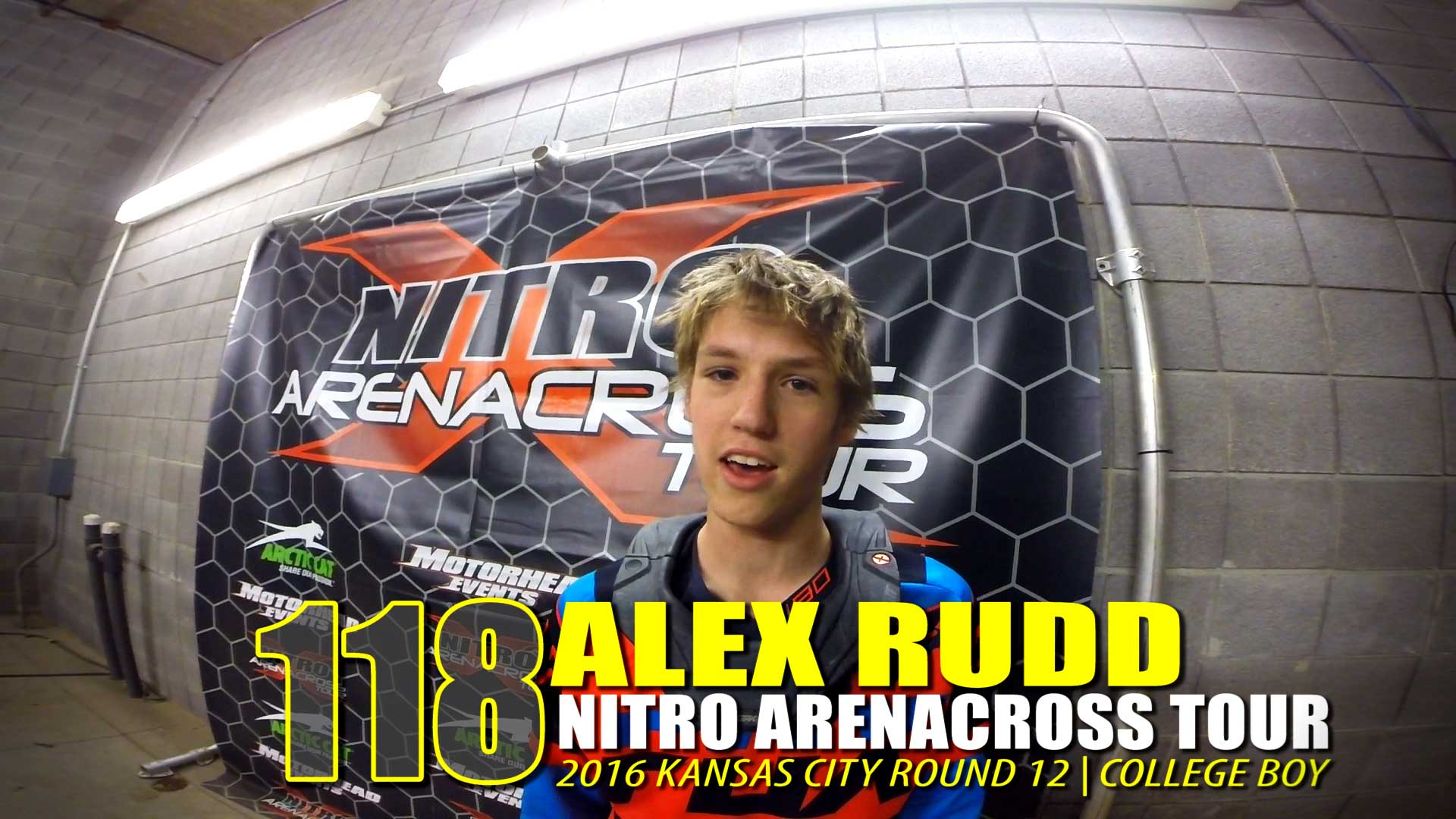 HELMET CAM: Alex Rudd Nitro AX Tour Kansas City