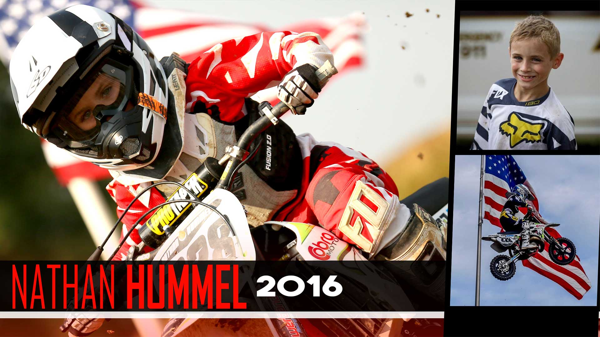 Rider Feature: Nathan Hummel |  Mini O's & 2016 Highlights - Glory Hog Media