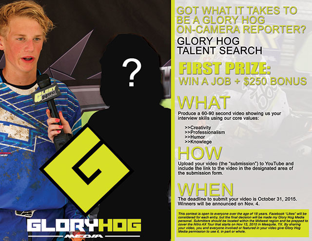 Glory Hog Media Interviewer Contest