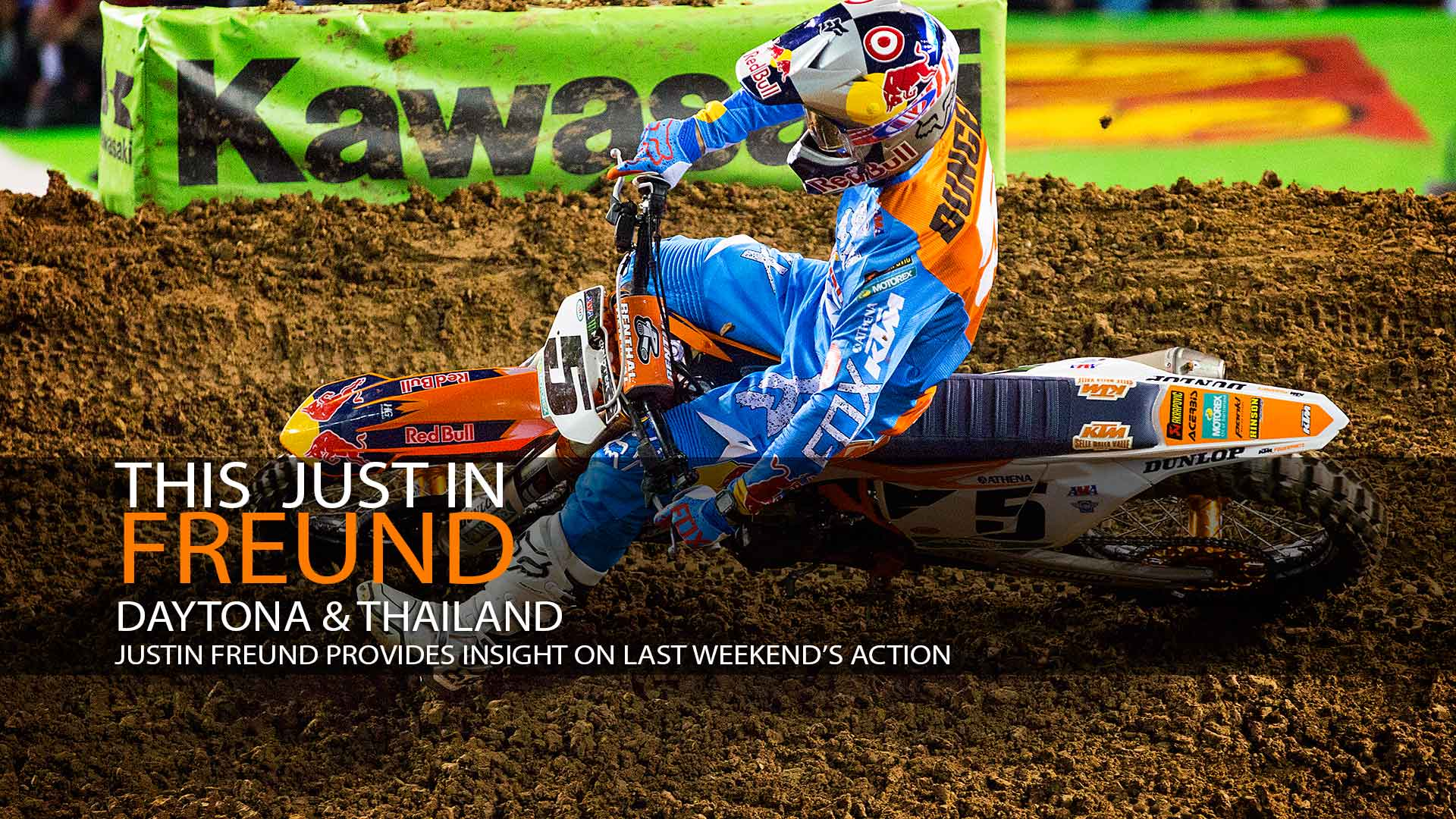 This Just In Freund: Daytona & Thailand