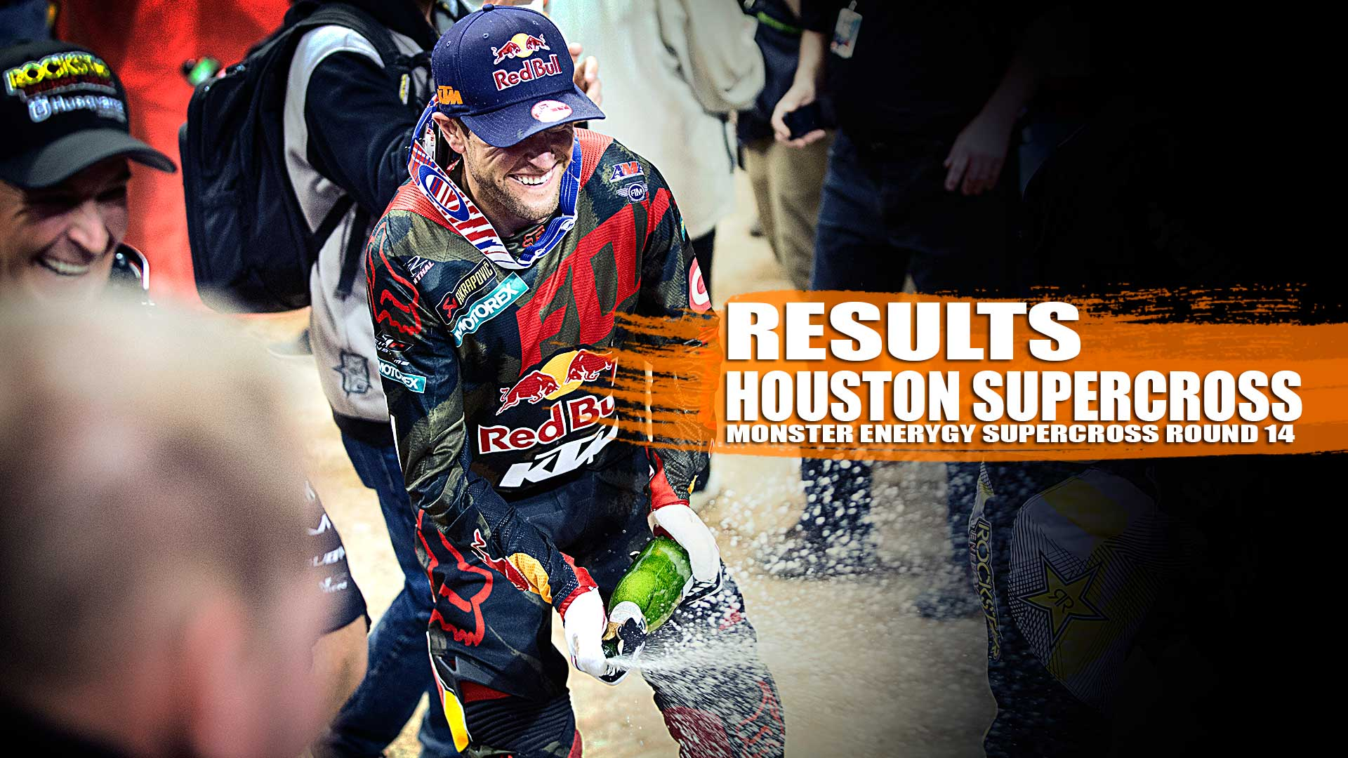 RESULTS: Houston Monster Energy AMA Supercross Round 14