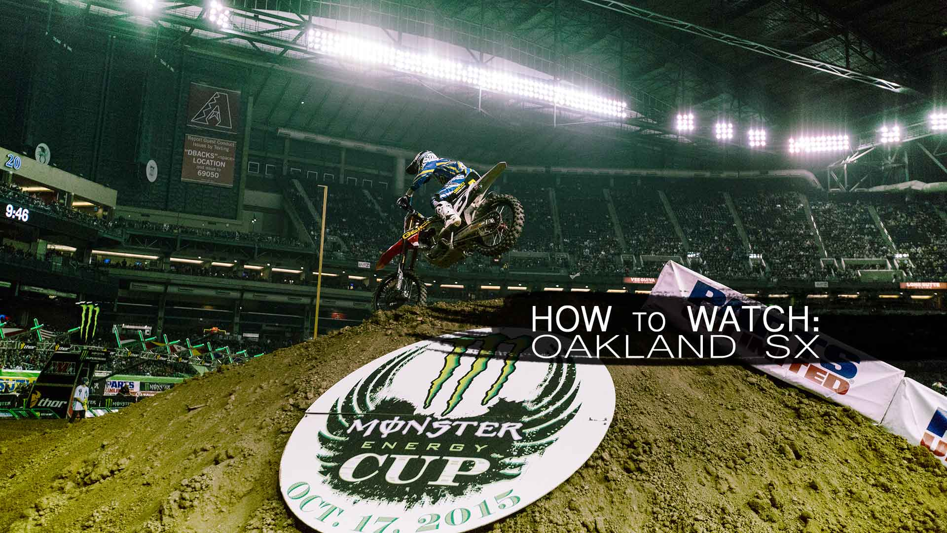 How to Watch Oakland Supercross