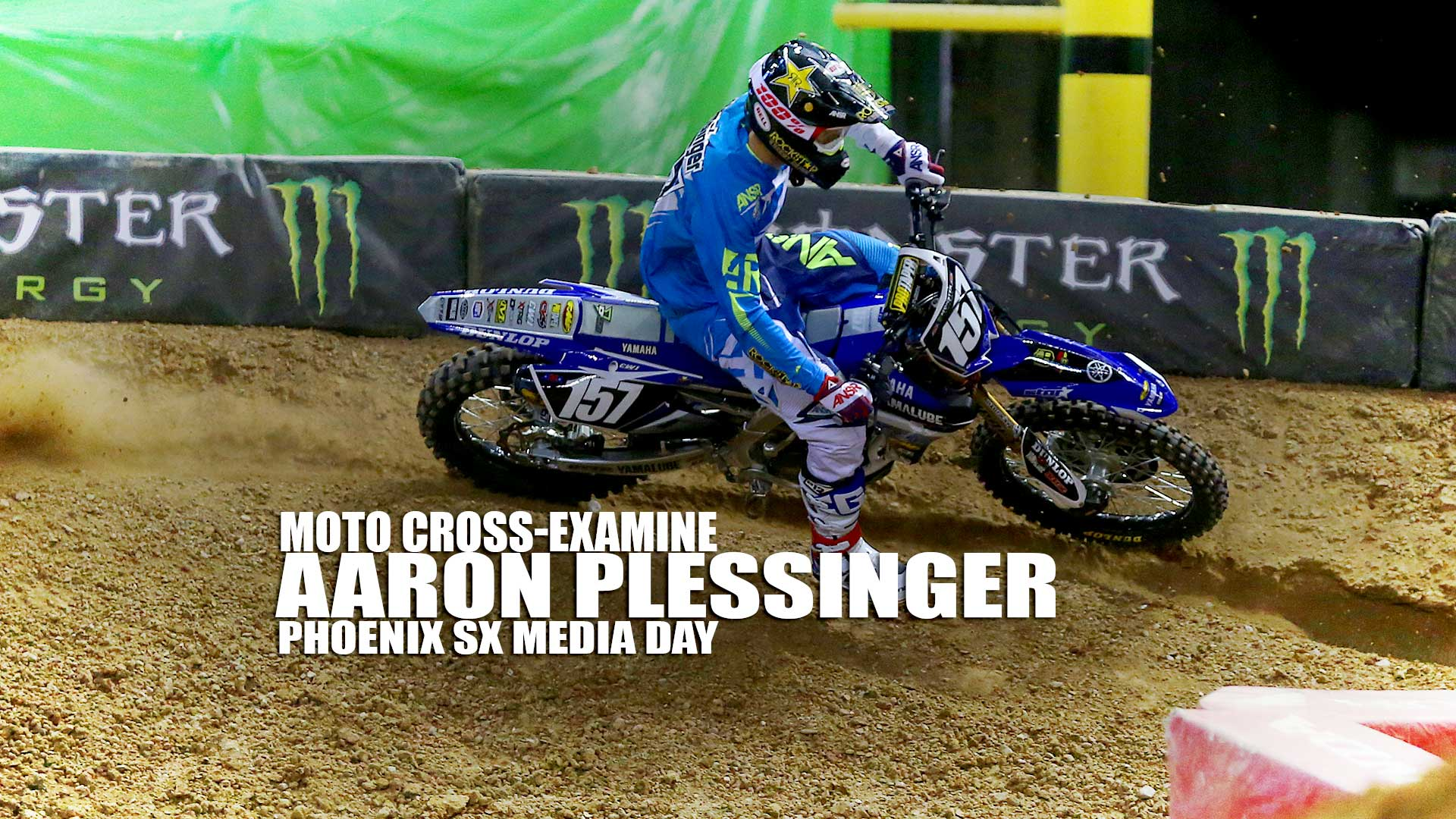 Moto Cross-Examine: Aaron Plessinger Phoenix SX Media Day