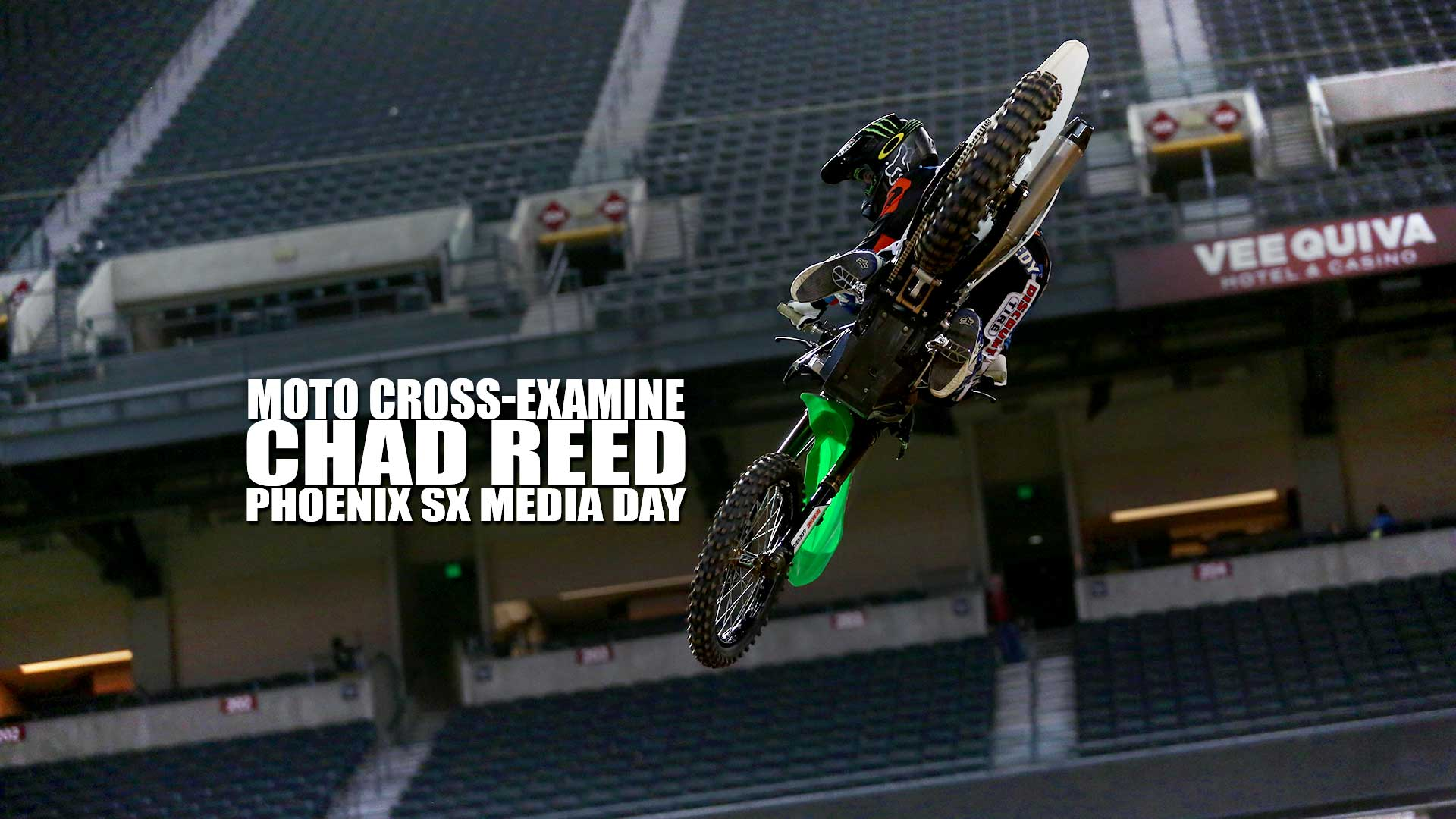 Moto Cross-Examine: Chad Reed Phoenix SX Media Day