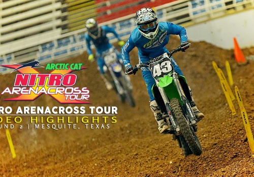 Nitro Arenacross Tour 2015 | The Best of Round 2 Mesquite - Glory Hog Media