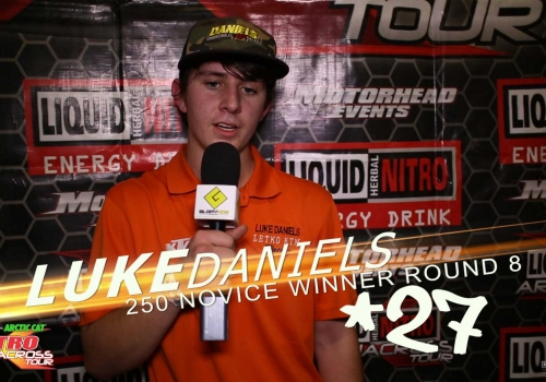 Nitro Arenacross Tour Topeka 250 Novice Class ft. Luke Daniels