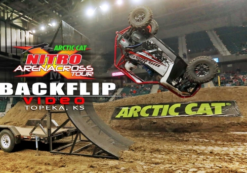 UTV Arctic Cat Back Flip Nitro AX Tour Topeka - Glory Hog Media