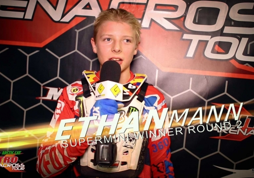 Nitro Arenacross Tour | Supermini | ft. Ethan Mann | Mesquite - Glory Hog Media