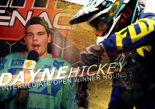 Nitro Arenacross Tour 2015 | Dayne Hickey | Intermediate Open - Glory Hog Media