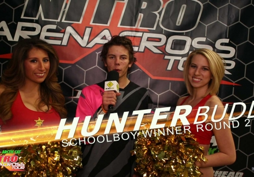 Nitro Arenacross Tour: Schoolboy ft. Hunter Budd | Mequite - Glory Hog Media