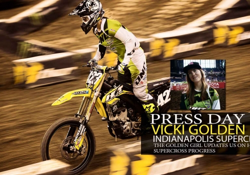 Indy Press Day: Vicki Golden
