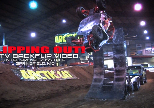 Flipping Out! Awesome UTV Flip Video - Glory Hog Media