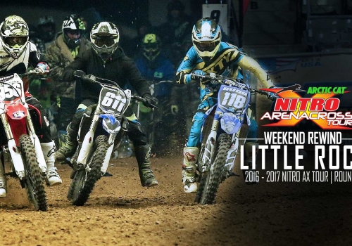 Video: Nitro Arenacross Weekend Rewind Little Rock - Glory Hog Media