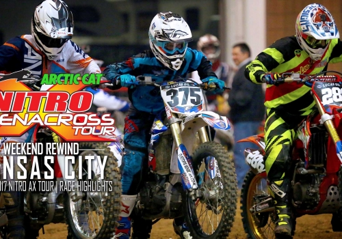Nitro Arenacross Tour Kansas City Weekend Rewind | 2017