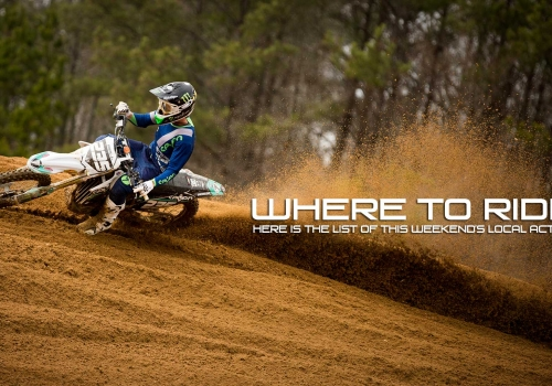 Where to Ride This Weekend - March 25-27