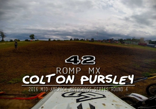 Helmet Cam: Colton Pursley ROMP MX - Glory Hog Media