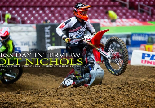 Press Day: Colt Nichols St. Louis Supercross 2015