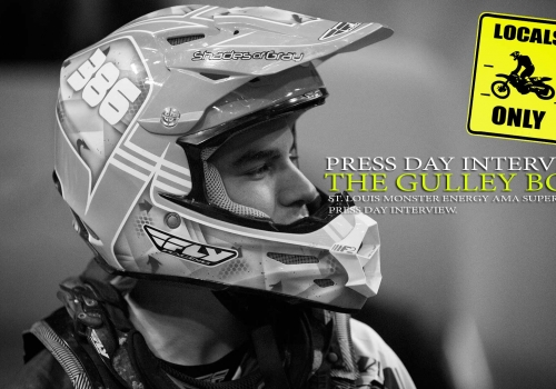 Press Day: The Gulley Boys St. Louis Supercross 2015