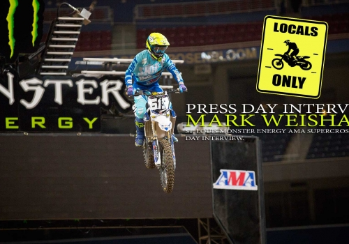 Press Day: Mark Weishaar St. Louis Supercross 2015