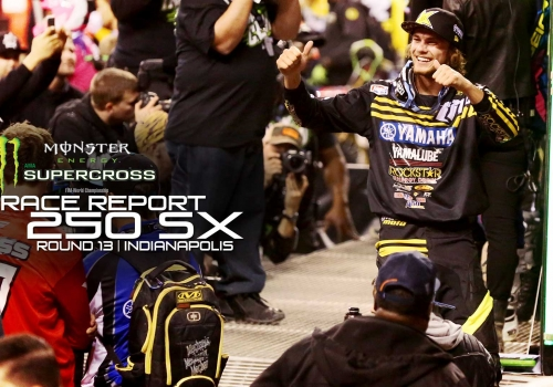 Race Report: Plessinger Wins First Career 250 SX Win