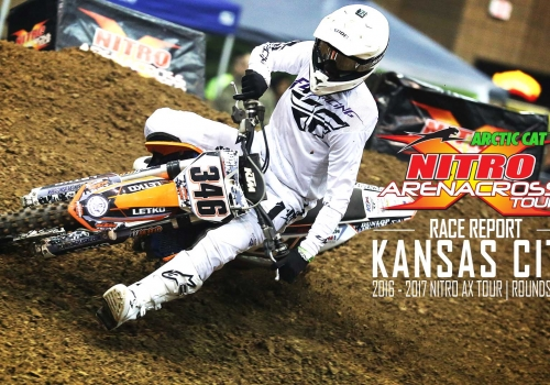 Race Report: The Showdown at Nitro Arenacross Kansas City