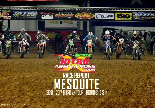 Race Report: Texans Win Podium Sweep Saturday Night at Mesquite Arenacross