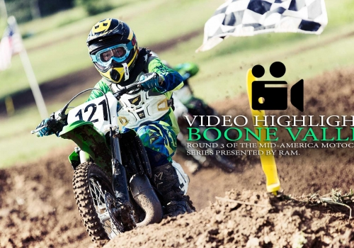 RACE HIGHLIGHTS: Boone Valley MX Round 3 Mid-America Motocross Series
