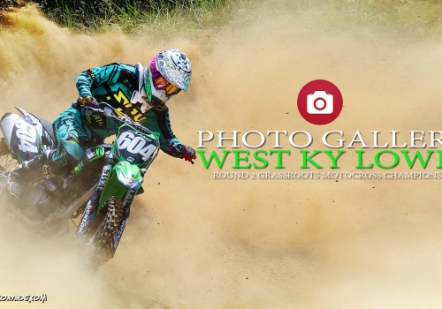 PHOTO GALLERY: West KY Lowes Grassroots MX Round 2