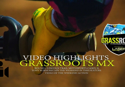 Video: Grassroots MX Round 1 Lincoln Trail Feature
