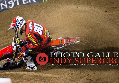 Gallery: Indianapolis Supercross Practice Sessions