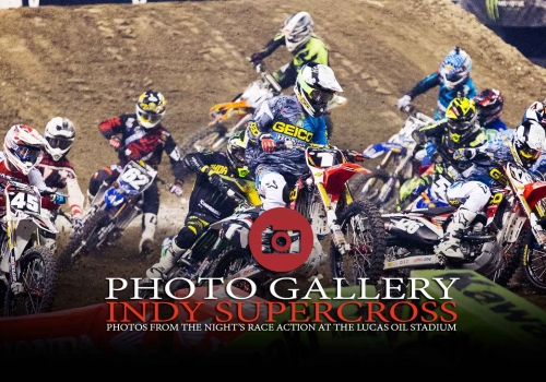 Gallery: Indianapolis Supercross Race Action