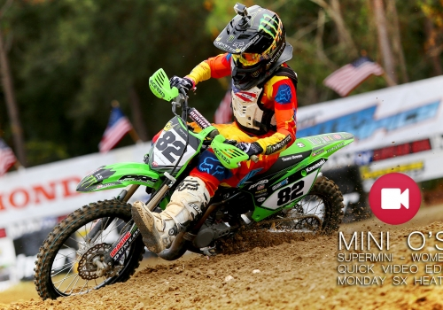 2014 Mini O's Supemini 1 & Women Supercross Heats Quick Cut