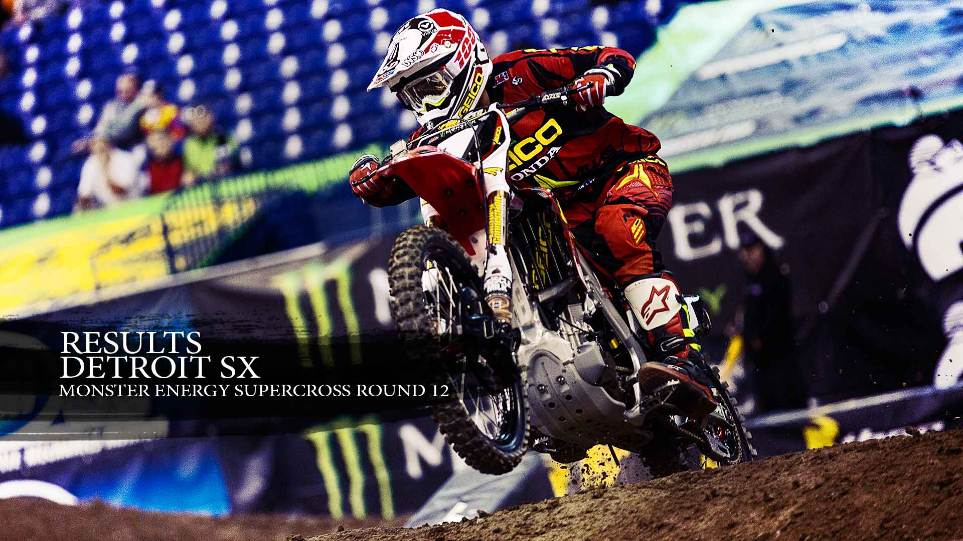 Results: Detroit Supercross and Point Standings